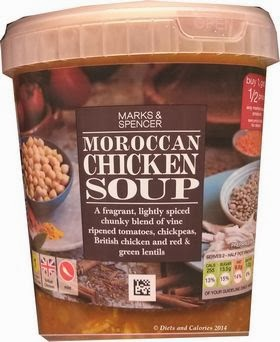 Marks & Spencer Moroccan Chicken Soup