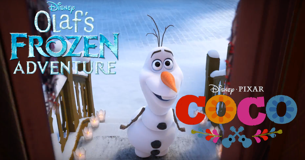 Disney's 'Olaf's Frozen Adventure' Featurette to be Paired