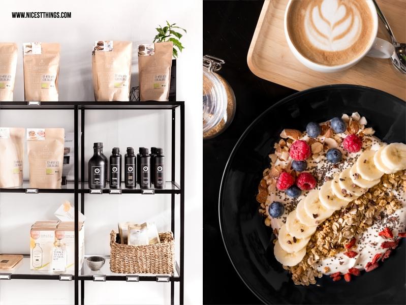 Müsli Bowl zum Frühstück im Café Nomad Heidelberg