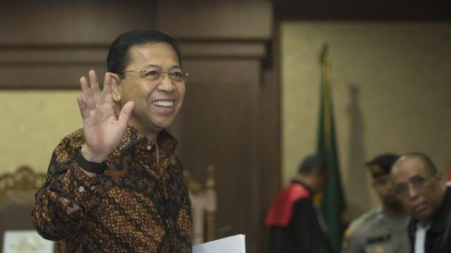 Sidang Korupsi E-KTP Menanti Pembacaan Putusan Sela untuk Setya Novanto