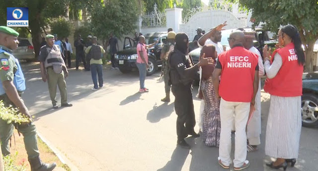 DSS, NIA Operatives Stop EFCC From Arresting Oke, Ekpeyong