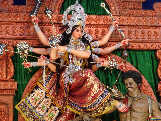 The Advaitist: Durga Saptashati Chandi Path in Bengali