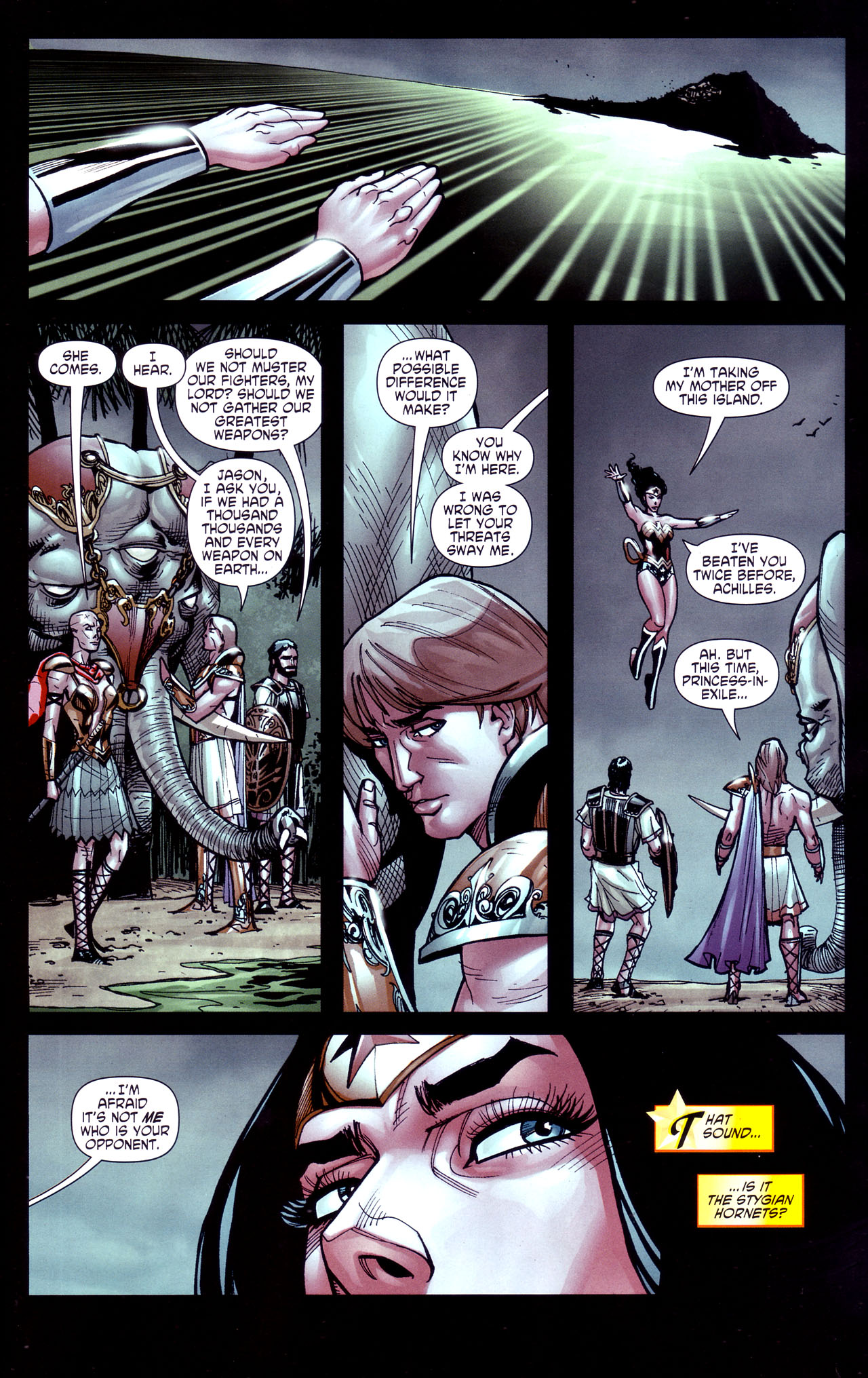 Read online Wonder Woman (2006) comic -  Issue #37 - 16