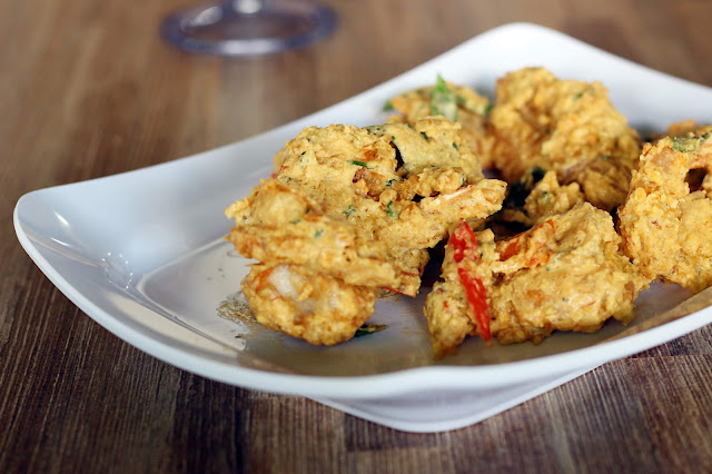 Udang Telur Asin di Vigor Resto and Cafe