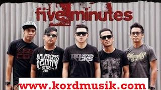 Kunci Gitar Five Minutes Lirik Trauma (Rasaku Hilang)