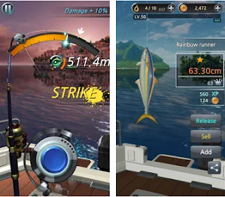 Download Fishing Hook Apk Mod v2.1.7 Unlimited Money For Android