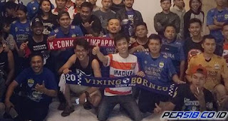 Persiba vs Persib: Viking Borneo Siap Dukung Langsung Maung Bandung