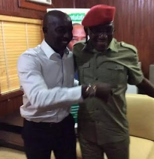 Coach Samson Siasia Settles Feud With Sport Minister, Dalung