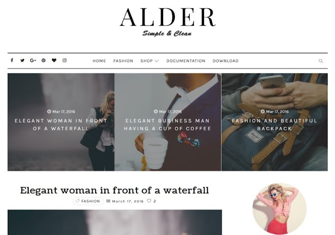 TOP 10 PREMIUM RESPONSIVE BLOGGER TEMPLATES 2019