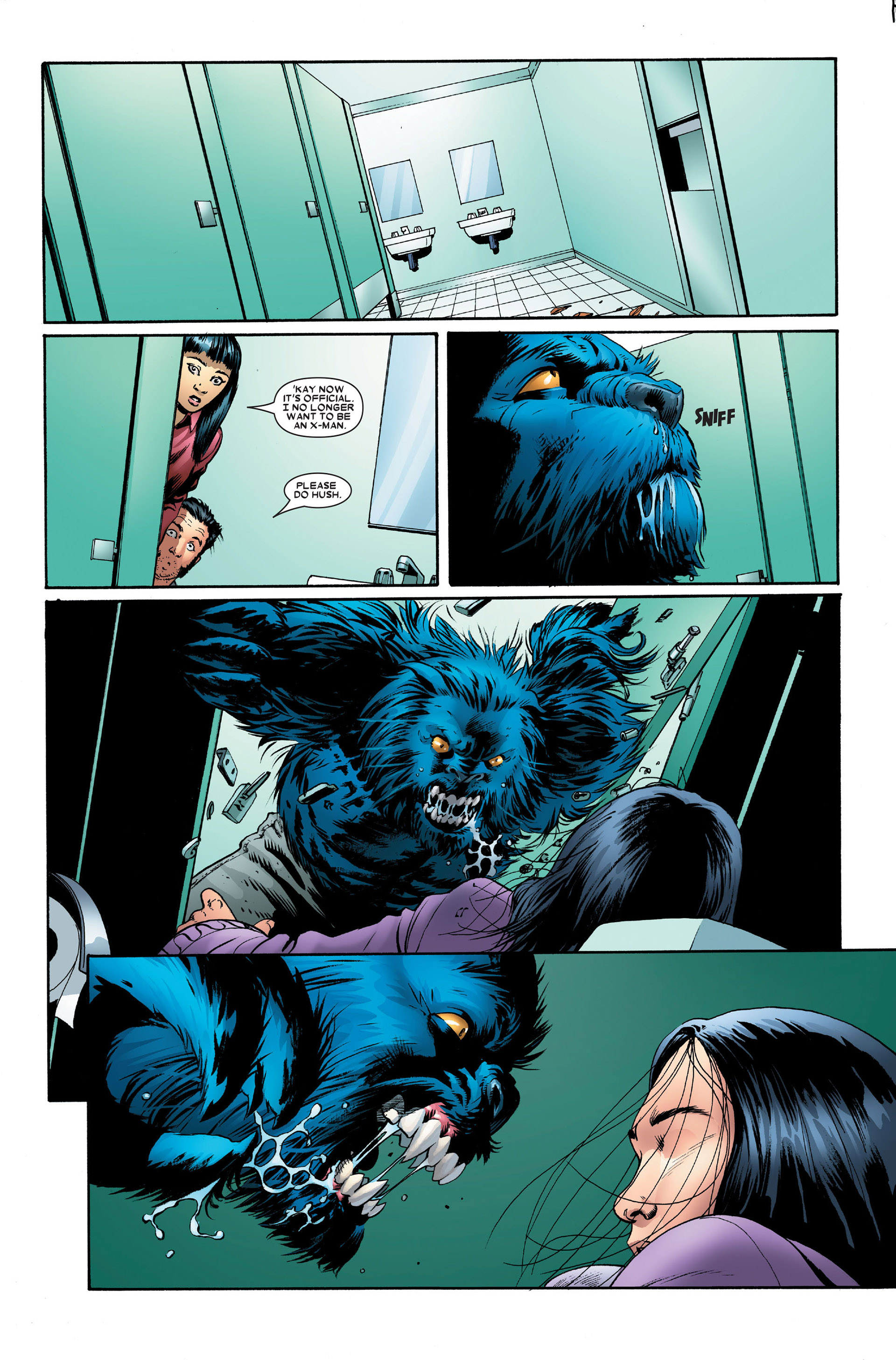 Read online Astonishing X-Men (2004) comic -  Issue #15 - 16