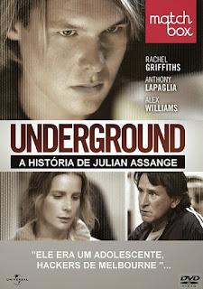 Assistir Underground: A História de Julian Assange Dublado Online HD