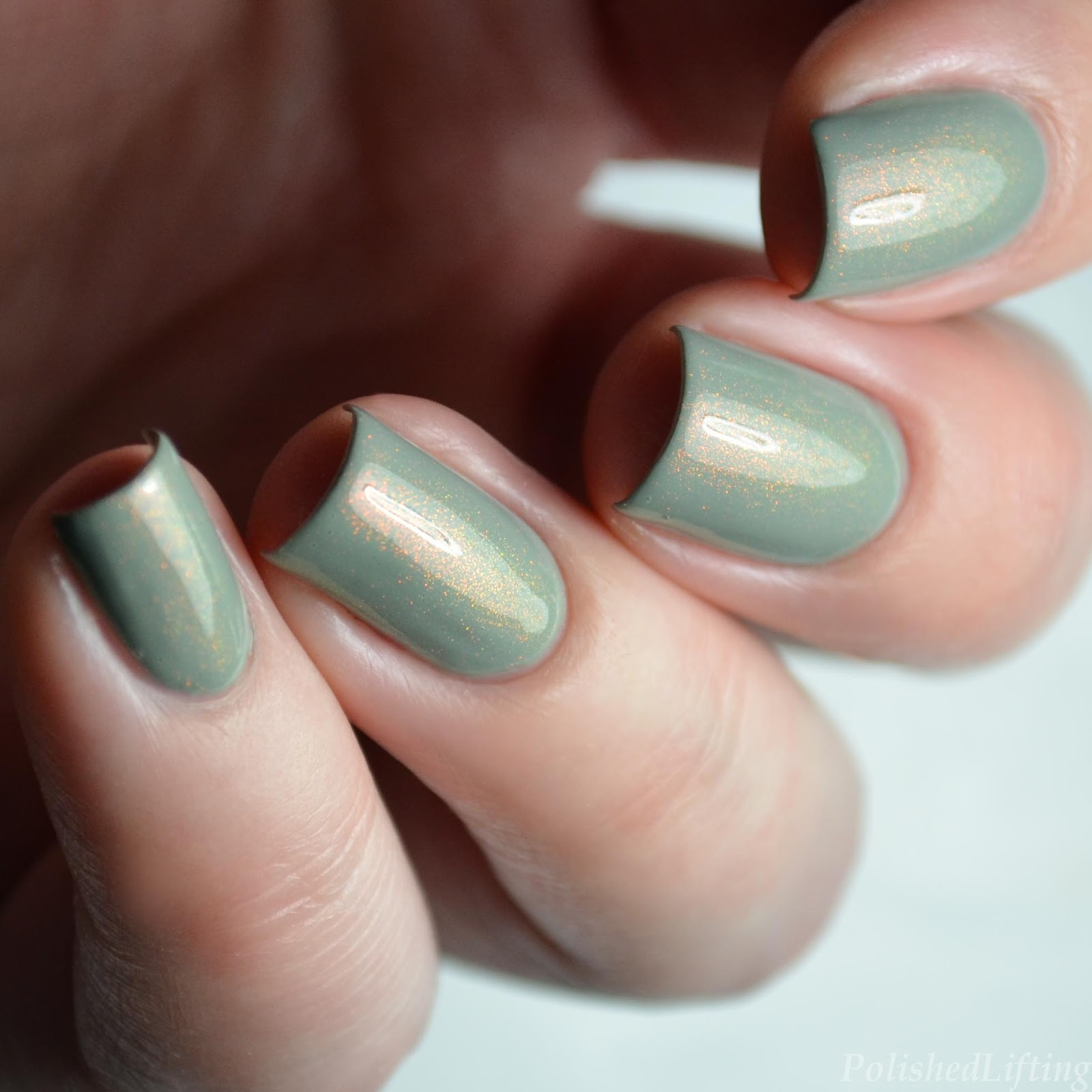 Polished Lifting: ILNP The Magician over Morgan Taylor Oh Parachute