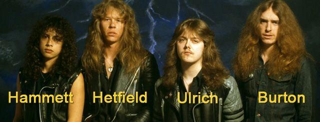 Metallica Banda Grupo