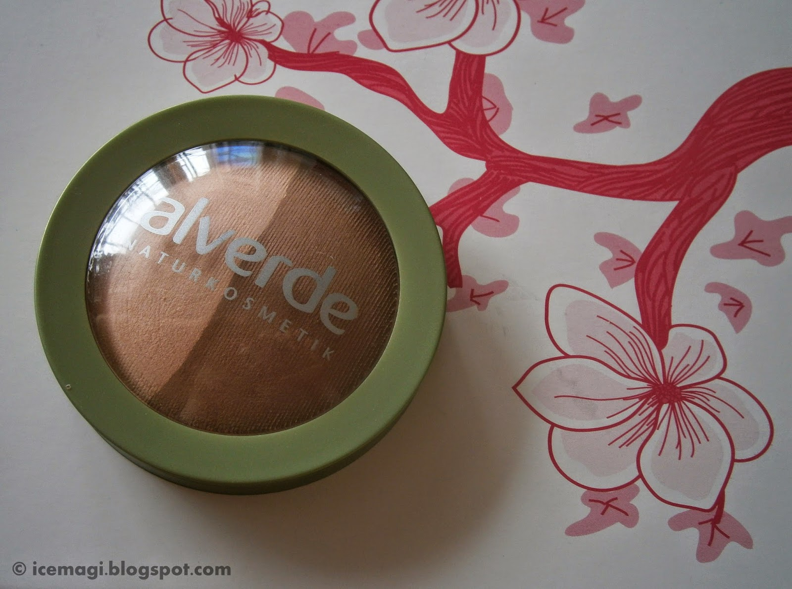 Alverde Duo-bronzer #10 light bronze