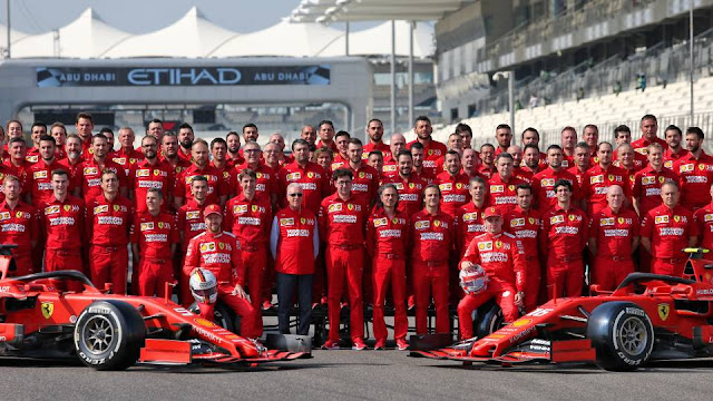 Scuderia Ferrari F1 team