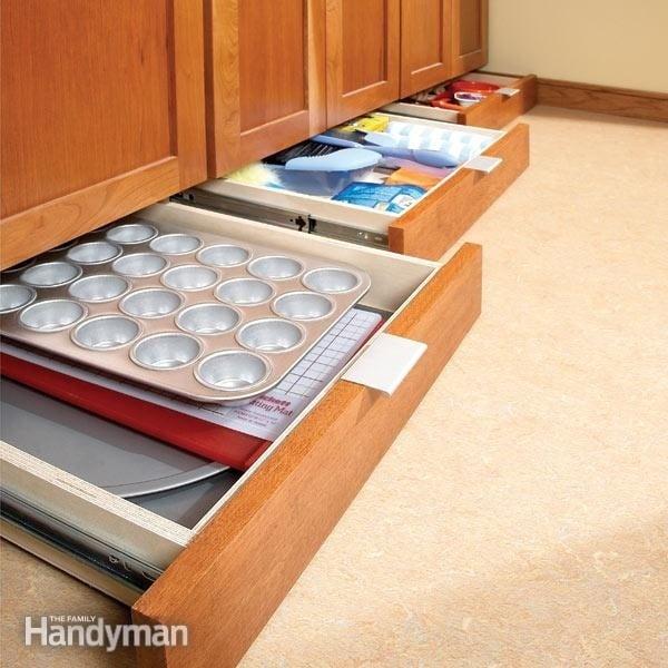 El alto de tu cocina, puede ser tu solución de almacenaje