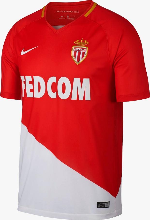 5da7f5fdcf Nike lança as novas camisas do Monaco - Show de Camisas