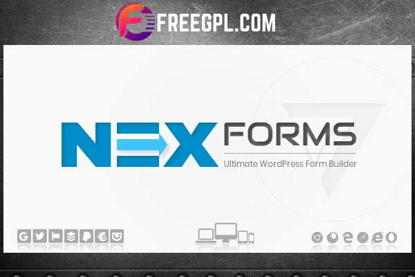 NEX-Forms – The Ultimate WordPress Form Builder Free Download