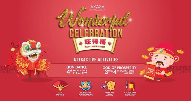 Akasa Wonderful Celebration, Be There!