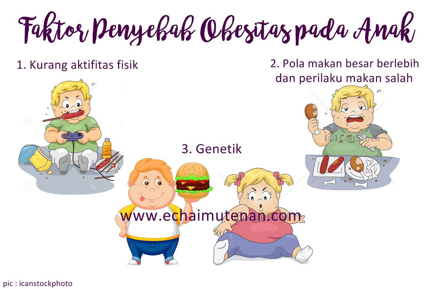 Cerita Cha Cegah Obesitas Pada Anak