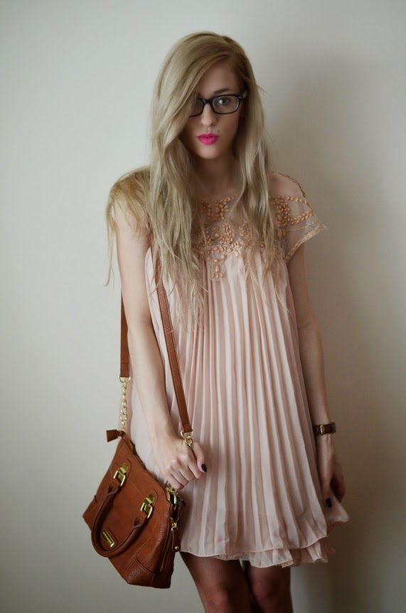 http://www.sheinside.com/Apricot-Short-Sleeve-Lace-Pleated-Chiffon-Dress-p-112684-cat-1727.html