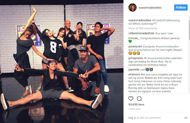 Watch Here! Sue Ramirez Falls on Her Behind During Foot Juggling Practice with Gab Valenciano!