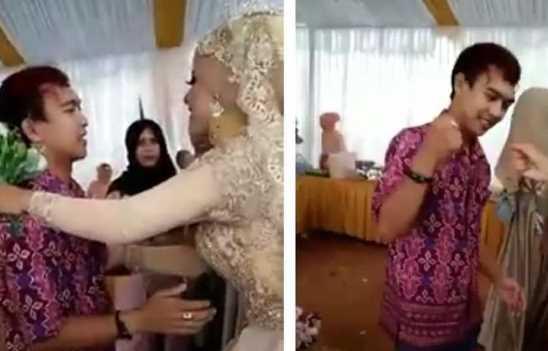 Pria Ini Datang Ke Pernikahan Mantan, Tamu Undangan Heboh Karena Ini!