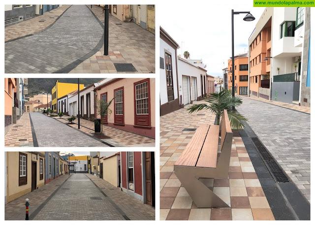 El Ayuntamiento de Los Llanos de Aridane concluye la reforma integral de la calle Ramón y Cajal