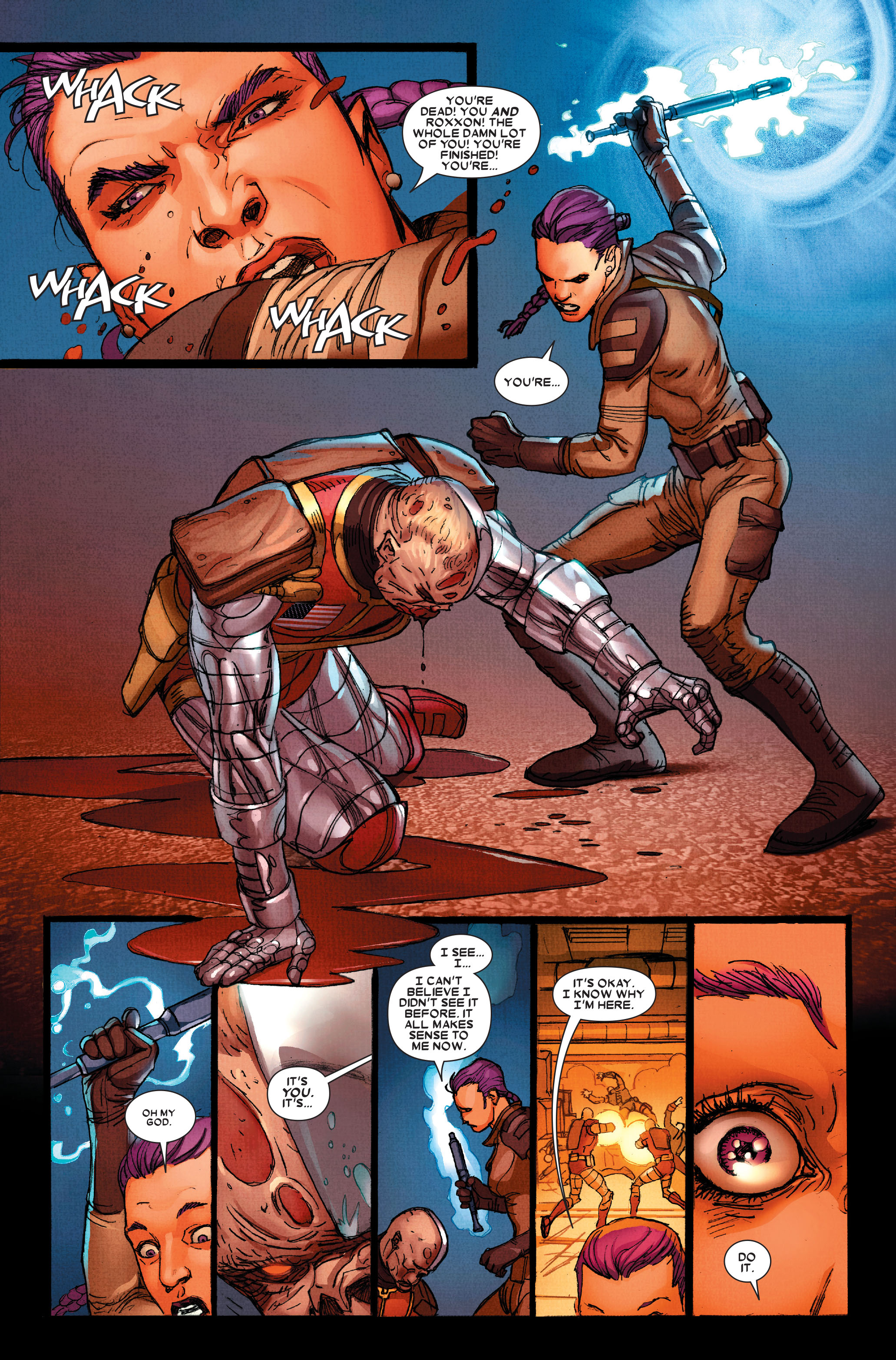 Read online Wolverine: Weapon X comic -  Issue #15 - 10