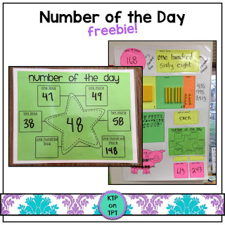 https://www.teacherspayteachers.com/Product/Number-of-the-Day-FREEBIE-761990