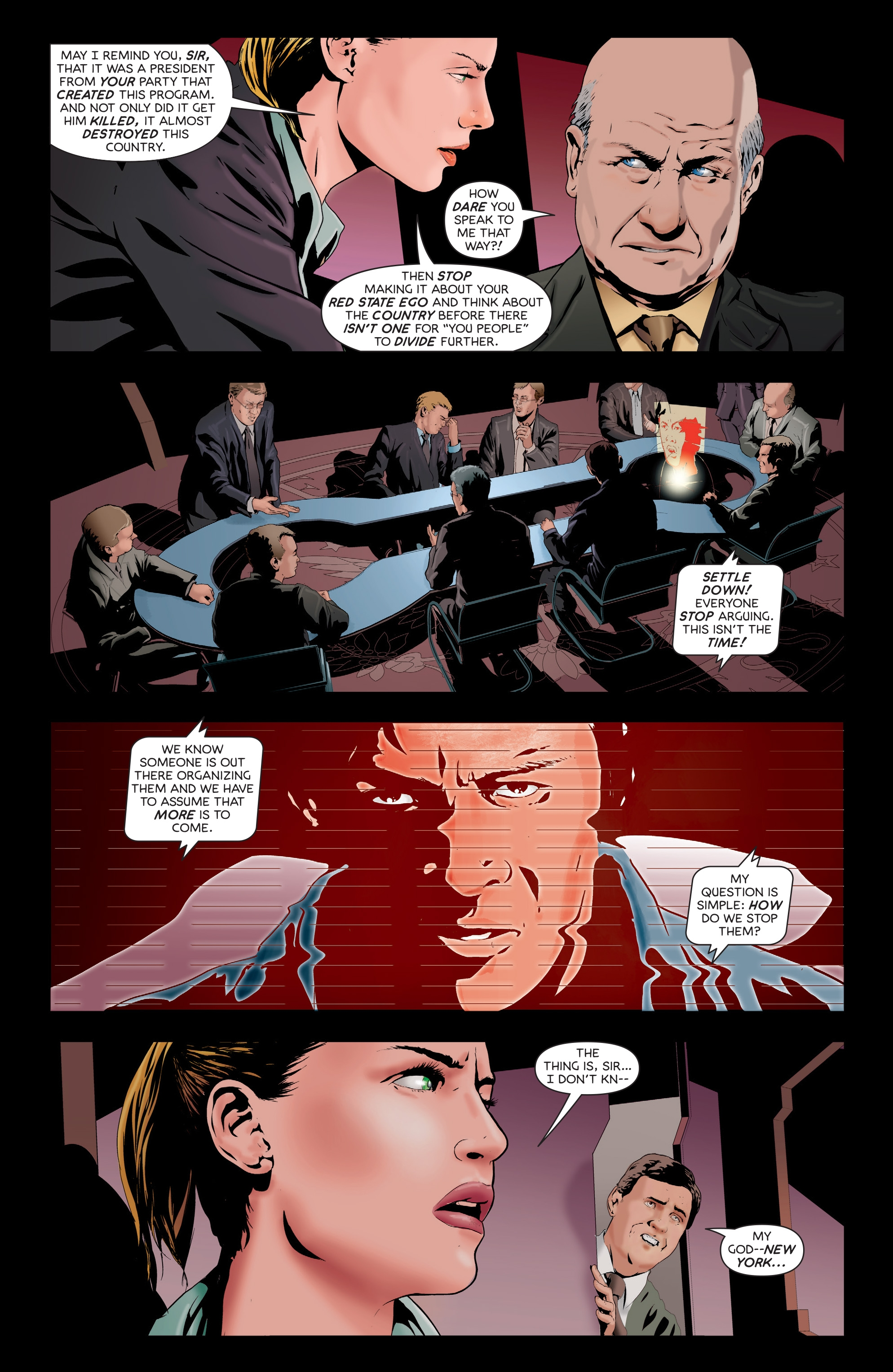 Read online Failsafe comic -  Issue #3 - 6