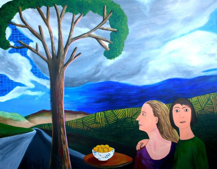 Испанская художница. Caroline Krabbe