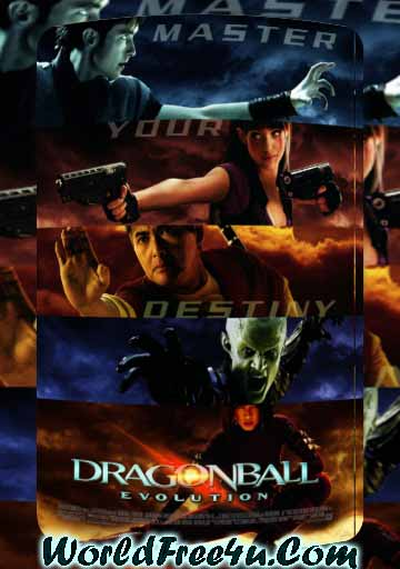 Poster Of Dragonball Evolution (2009) In Hindi English Dual Audio 300MB Compressed Small Size Pc Movie Free Download Only At worldfree4u.com