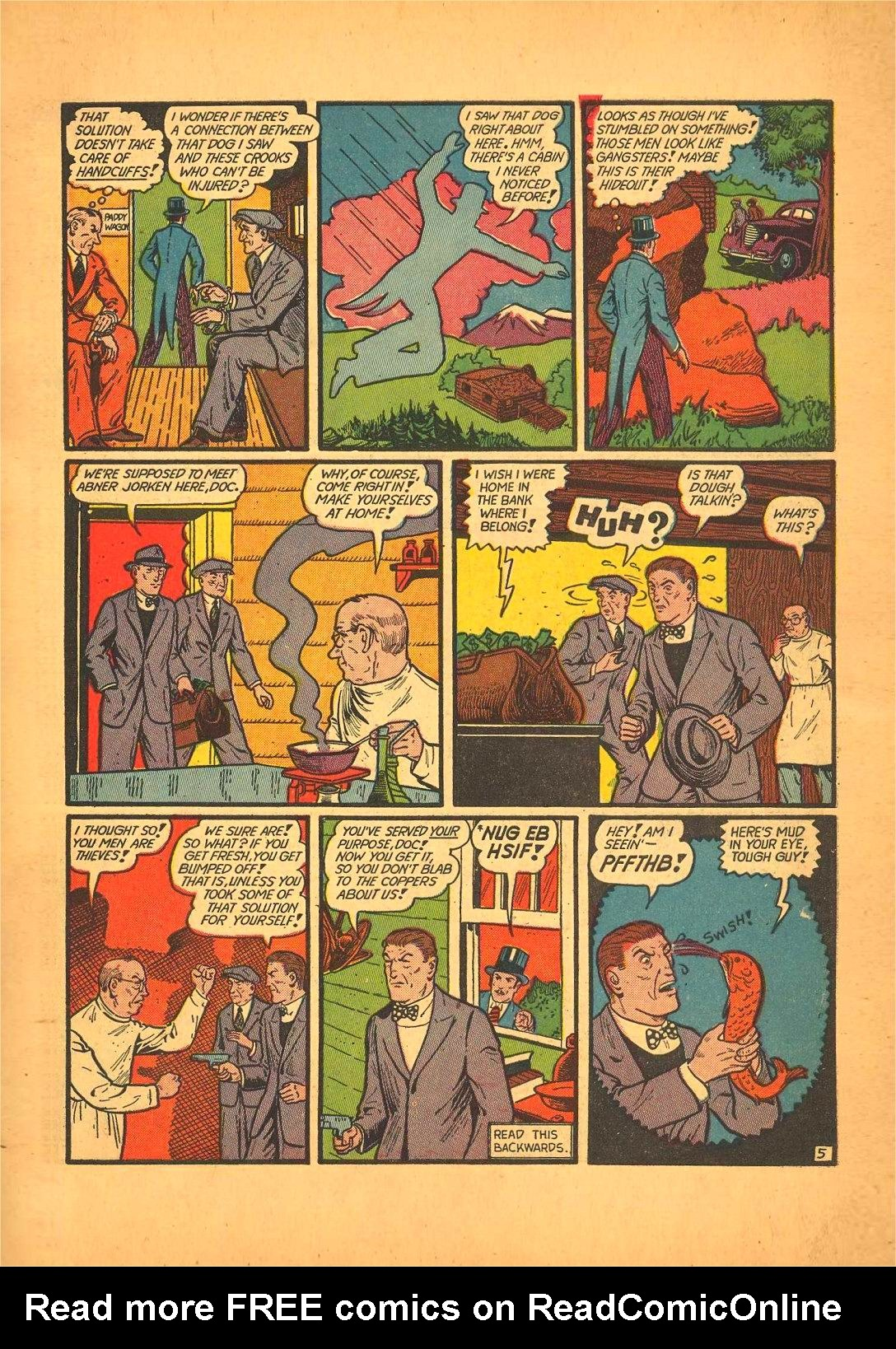Read online Action Comics (1938) comic -  Issue #50 - 69