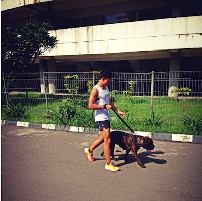 Rio Haryanto Jogging