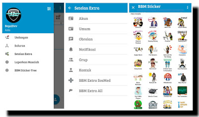 BBM Mod Plus SosMed+Games+News+Online (Anti Force Close) v3.0.1.25