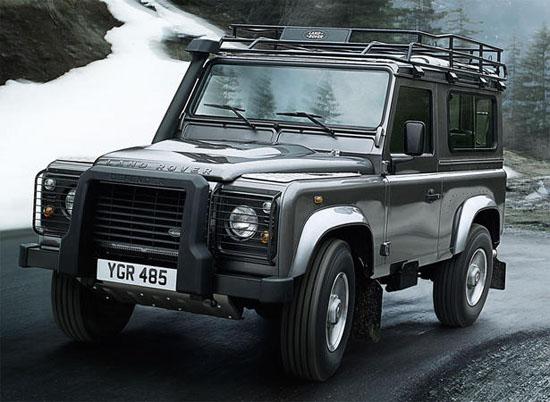 voitures et automobiles le nouveau land rover defender 2012. Black Bedroom Furniture Sets. Home Design Ideas
