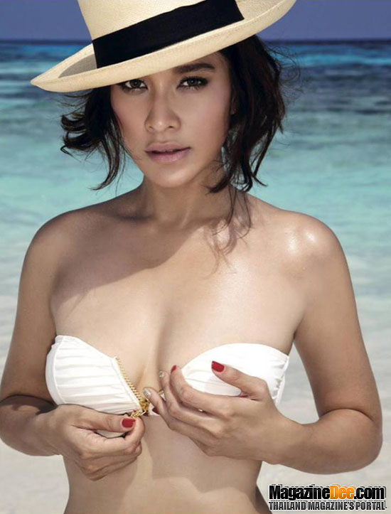 Thai Actress Ploy Chermarn in Image Magazine via Yellowmenace