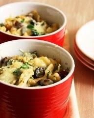 Special Veggie Alfredo Pasta