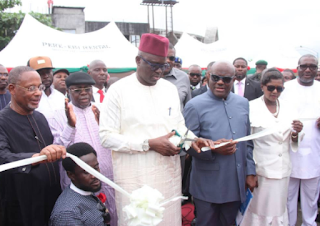 fayose and wike commissioning a project