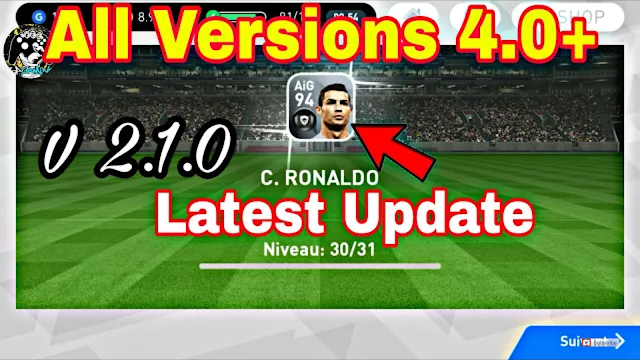 Download PES 2018 Mobile 4.0+ (Android/IOS)
