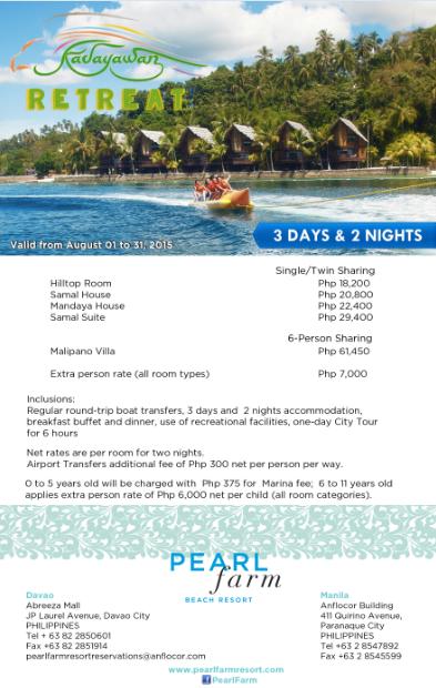 Bechay Travels Pearl Farm Beach Resort Kadayawan Sa Dabaw