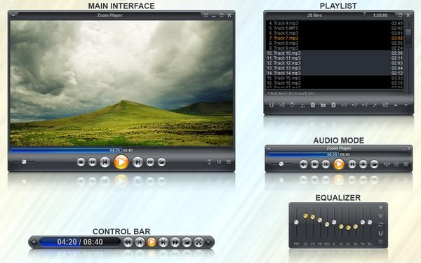 Zoom Player 14.5 - Πανάλαφρος και γρήγορος Multimedia Player