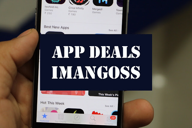 we bring you a daily app deals for you to download these awesome paid iPhone/iPad apps for iPhone/iPad for free for limited time because we don't know when their price could go up in the App Store. So once you download the free app from the list, you can use it forever.