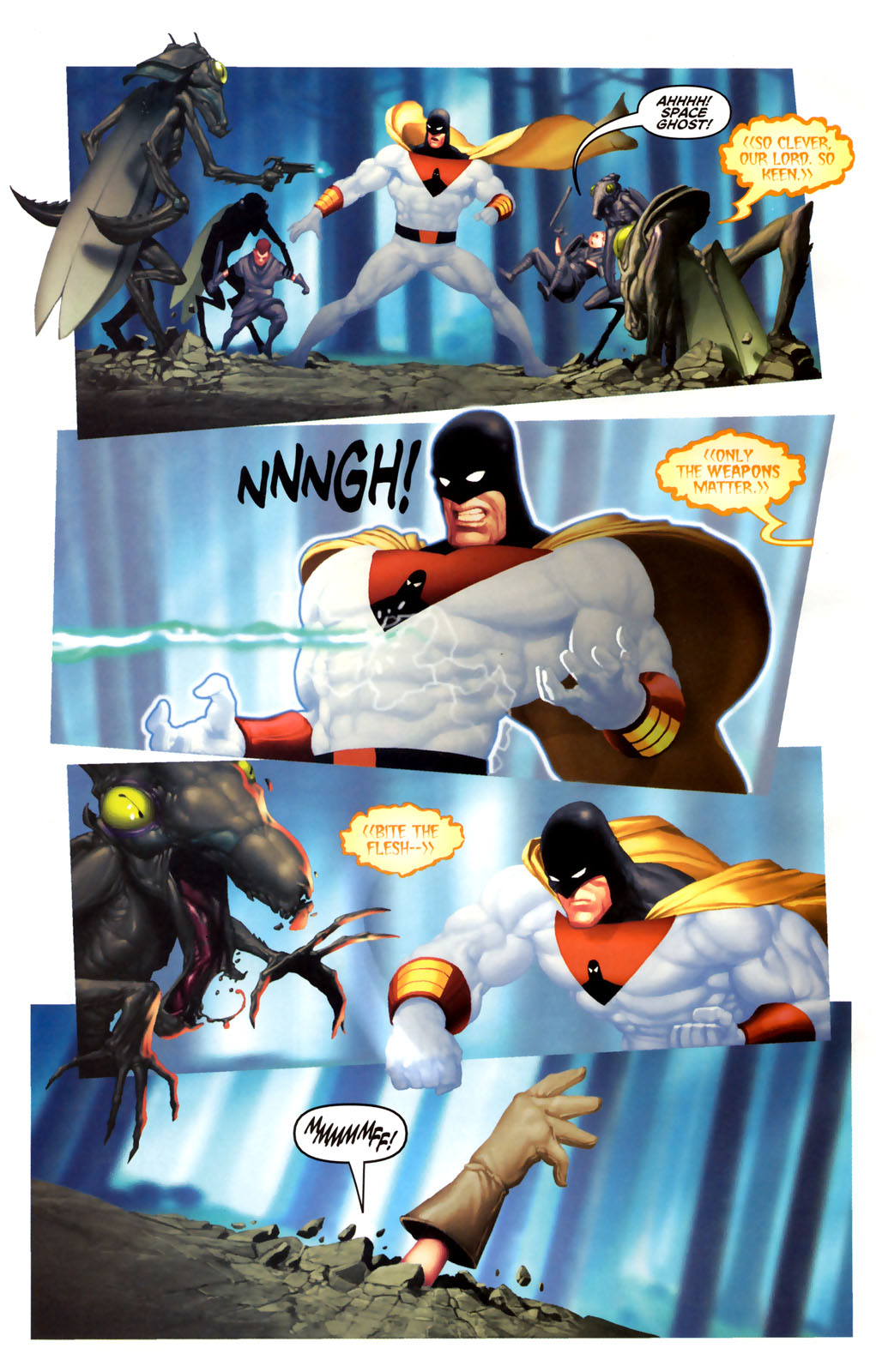 Read online Space Ghost (2005) comic -  Issue #4 - 16