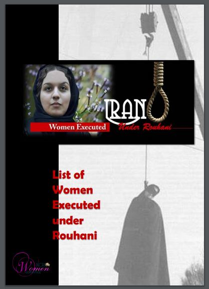 The List of 80 women executed in Iran under Rouhani