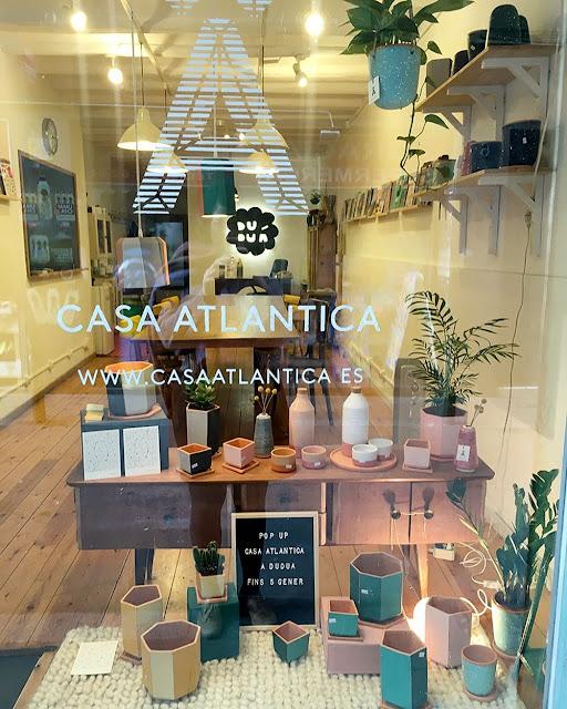 Pop up de Casa Atlântica en Duduá y maceta edición limitada