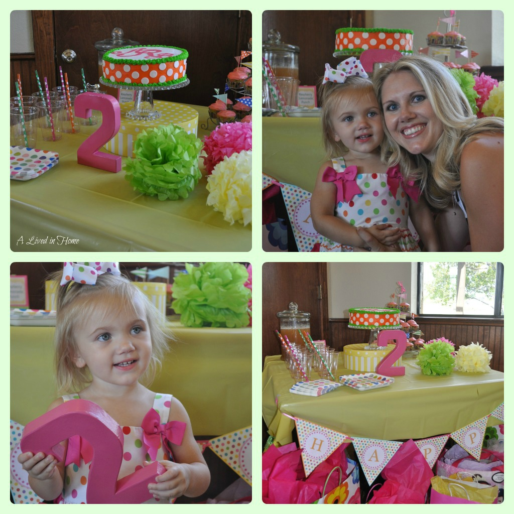 A Lived In Home: How Sweet It Is- 2nd Birthday Party