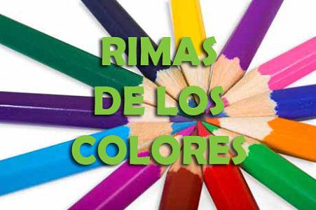 rimas de los colores