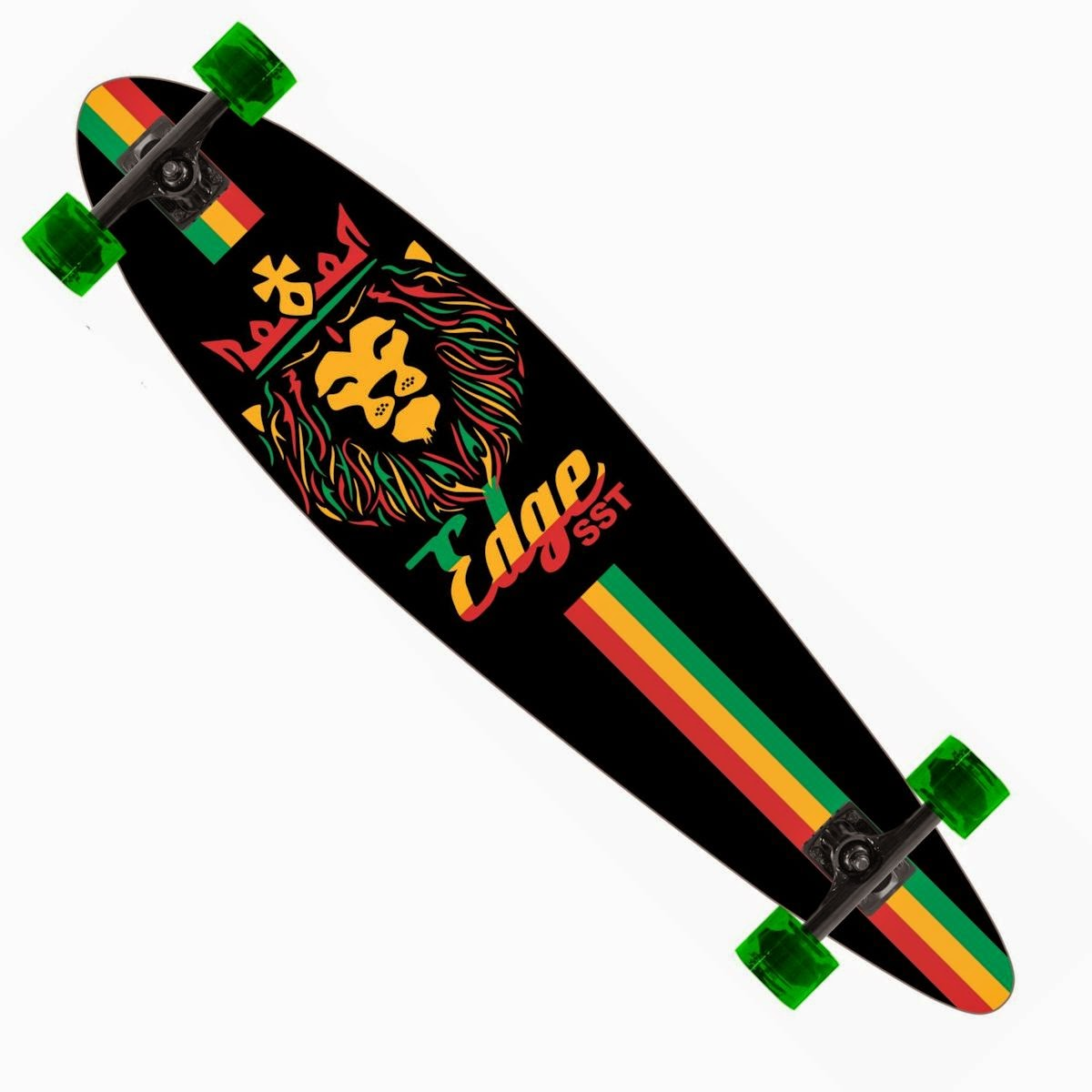 King Rasta Longboard Pintail Complete 9.25″ x 39.25″